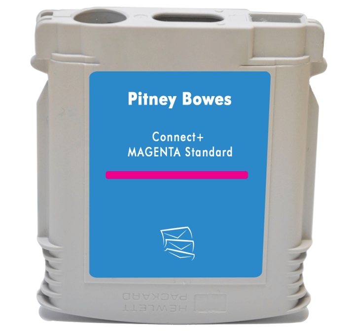 Cartouche Pitney Bowes ® Connect+ compatible MAGENTA
