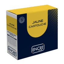 COMPATIBLE Brother LC123Y - Cartouche d'encre jaune